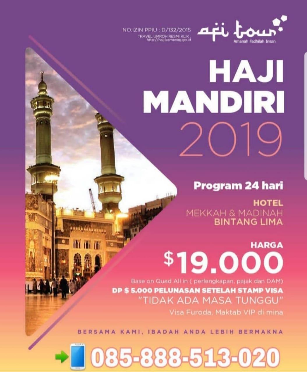 Haji Mandiri 2019