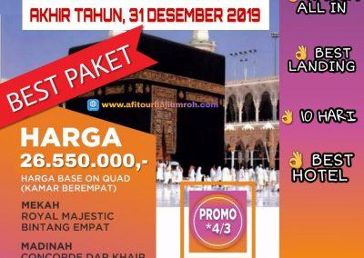 Paket Umroh Afitour Terbaru 2019 (2)